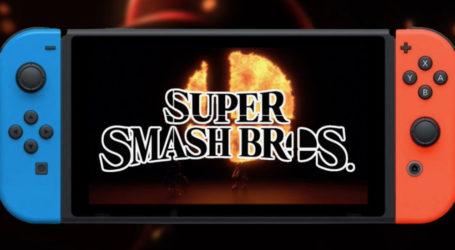 Presentarán los modos, personajes e ítems de Super Smash Bros. en la E3 2018
