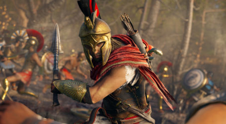 Assassin's Creed Odyssey: El parche de lanzamiento pesa 1,4 GB