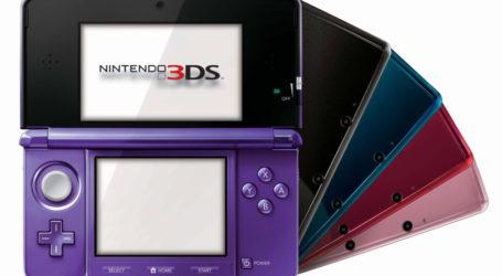 3DS ha vendido más de 5,5 millones de consolas en Francia