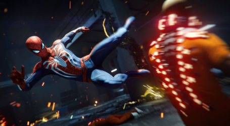 Mira cómo han cambiado los gráficos de Spider-Man en un año