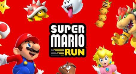 Super Mario Run alcanzó los 60 millones de dólares en ingresos