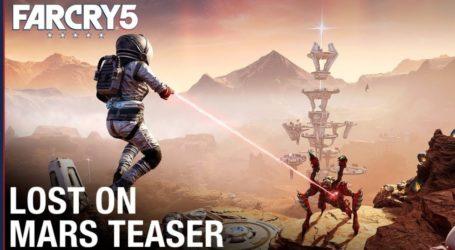 Perdido en Marte, segundo DLC de Far Cry 5, anuncia fecha de lanzamiento