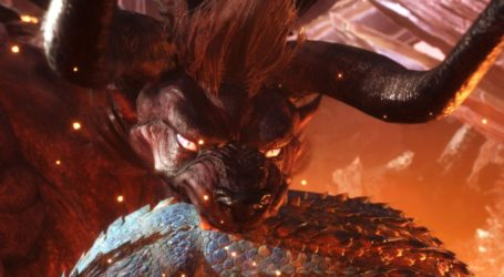 Mira cómo es enfrentarte al Behemoth de FFXIV en Monster Hunter World