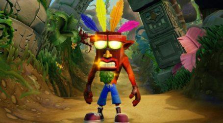 Crash Bandicoot: N. Sane Trilogy lo más vendido en Reino Unido ¡Otra vez!