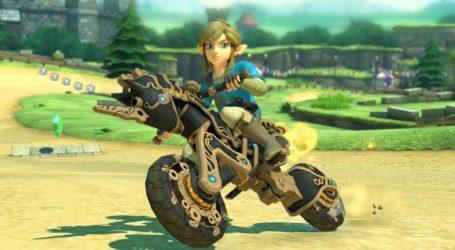 Mario Kart 8 Deluxe luce nuevo contenido de Zelda: Breath of the Wild