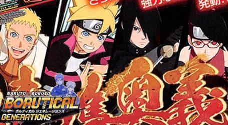 Naruto x Boruto: Borutical Generations es anunciado para navegadores