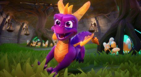 Spyro Reignited Trilogy solo tiene el juego original en el disco