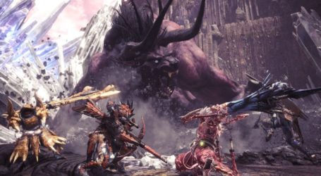 Monster Hunter World da la bienvenida al Behemoth de Final Fantasy