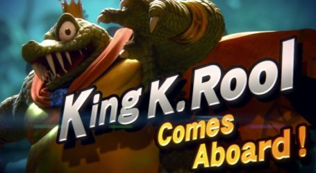 King K. Rool se une a Super Smash Bros. Ultimate