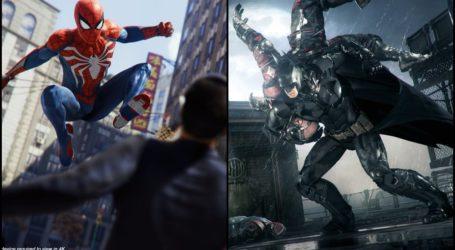 Lanzan vídeo comparativo del estilo de combate de Spider-Man y Batman