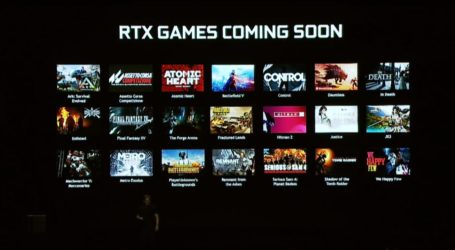 Conoce los primeros 21 juegos compatibles con la RTX de Nvidia