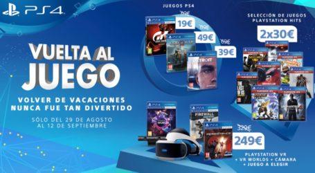 ¡Nueva promoción de Playstation! Empiezan las ofertas Vuelta al Juego