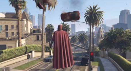 GTA V: Magneto invade las calles de Los Santos