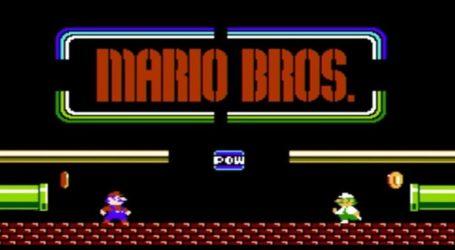 Anuncian juego online del clásico Mario Bros para Nintendo Switch