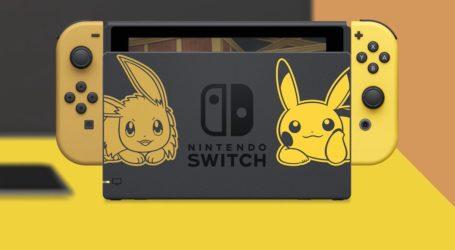 ¡Nuevo bundle! Presentan una Nintendo Switch de Pokémon Let's Go