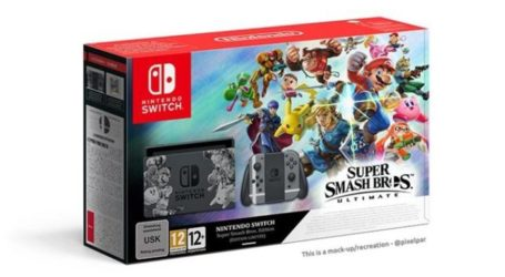 Anuncian la Nintendo Switch de Super Smash Bros. Ultimate