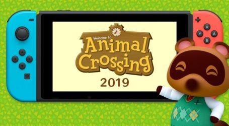 ¡Nuevo Animal Crossing! Llegará en el 2019 a Nintendo Switch