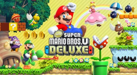 New Super Mario Bros. U Deluxe llegará a Nintendo Switch