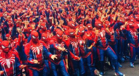 Sony y Marvel baten un récord Guiness con Spider-Man