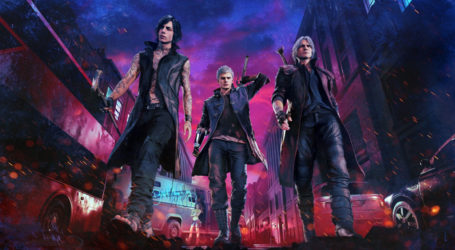 ¿Qué personajes son jugables en Devil May Cry V?