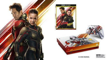 Presentan una Xbox One X de Ant-Man and the Wasp