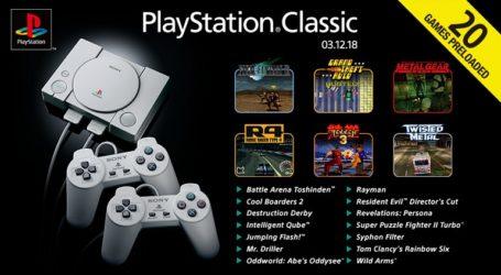 Reportan problemas de rendimiento en juegos de PS Classic