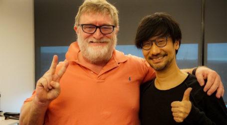 Hideo Kojima visita las oficinas de los creadores de Half Life