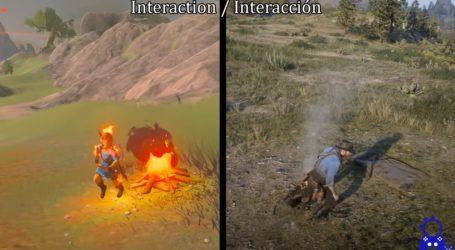 Red Dead Redemption 2 y Zelda BOTW cruzan sus mundos