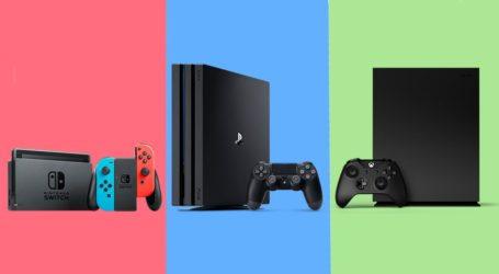 Anuncian cuál fue la consola más vendida en EEUU durante el 2018