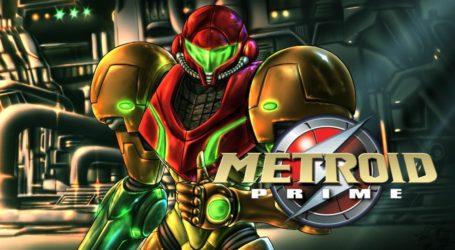Metroid Prime Trilogy sale listado para Switch en una tienda sueca
