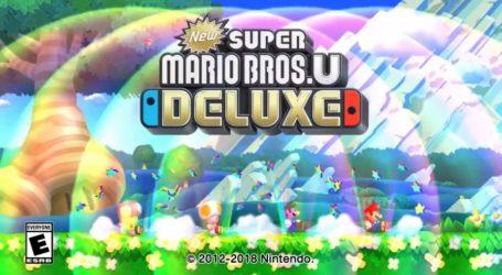 New Super Mario Bros U Deluxe el gran líder en Japón