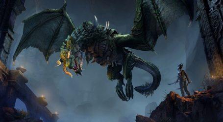 ¡Un dragón! The Elder Scrolls Online muestra su nueva expansión