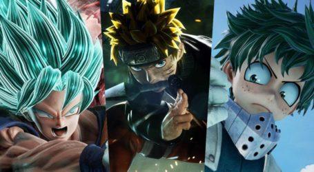 Se revela la cantidad de personajes de Jump Force